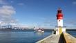 chalutiers dans le port de pêche du guilvinec,bretagne - 66040588