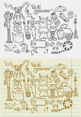 Doodle The Monsters