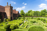garden of Hatfield House, Hertfordshire, England poster