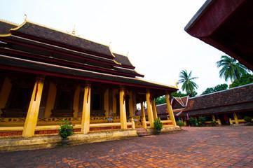 Buddhist wat Sisaket in Vientiane, Laos