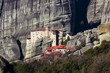 Meteora Greece Monasteries and rock formations