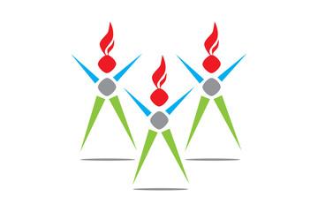 Vector Logo Dans Grup