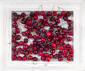 Picture with cherries