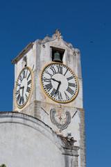 clock tower view - Church of Santa Maria do Castelo- im the city