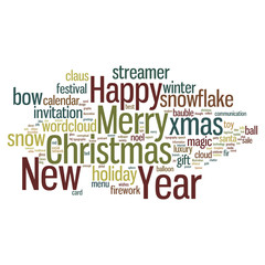 Christmas Tag Cloud