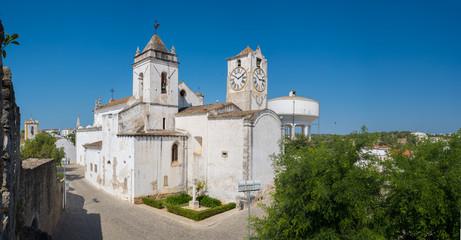 historic Church of Santa Maria do Castelo- in the city Tavira, A