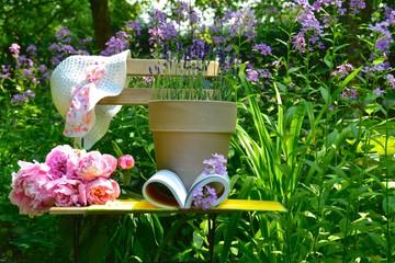 Gartensaison...