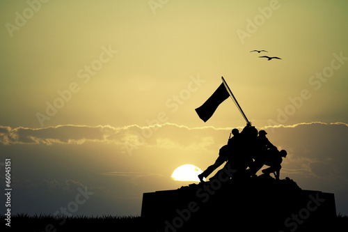 Poster Historisch mon. War memorial