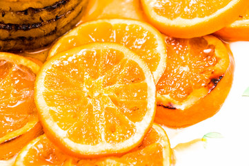 sweet caramelised orange