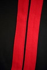 dettaglio pantaloni da carabiniere