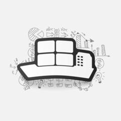 Drawing business formulas: ship