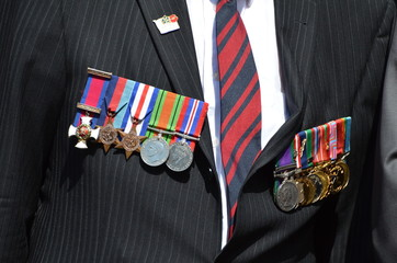Médailles militaires anglaises