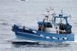 chalutiers navigant en mer d'iroise,bretagne - 66047150