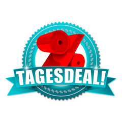 Tagesdeal! Button, Icon