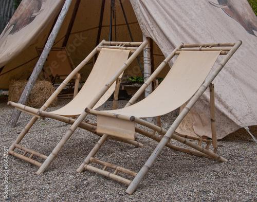 Papiers peints Camping Indianerzelt