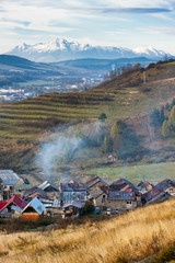 gypsy village near Stara Lubovna, Slovakia