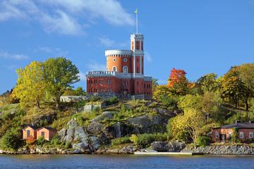 Small Castle on Kastellholmen island in Stockholm