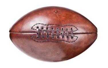 leather vintage football