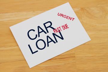 Car Loan Payment Past Due