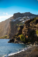 Madeira, view looking towards Camara de Lobos