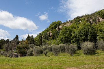 Pienza. Italy. Tuscan landscapes.