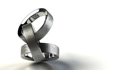 指輪と12の星座