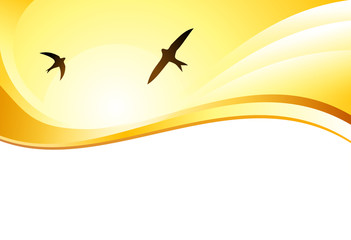 Sommer - Banner oder Hintergrund