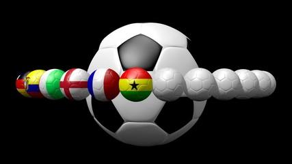 Flags Balls