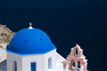 Kirche auf Insel Santorin
