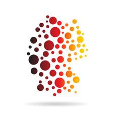 Germany Circles Map image logo