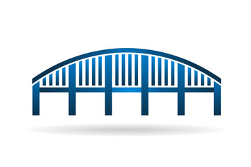 Arch Bridge structure image logo