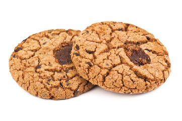 two delicioous cookies