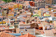 Roofs of Bosa town in Sardinia