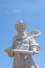 China god statue in the sky