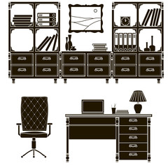 icons office furniture