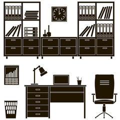 icons office furniture 2