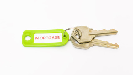 Isolated keys with Mortgage tag.