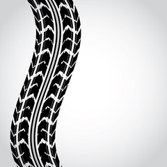 special black tire track abstract background