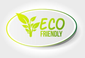 sticker eco friendly
