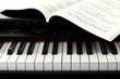 Leinwanddruck Bild - Digital piano