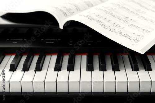 Leinwanddruck Bild Digital piano