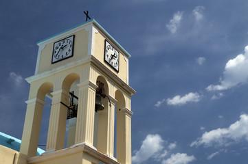 Kirchturm auf Insel Kreta