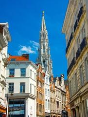 Bruxelles, clocher de l'Hôtel de Ville
