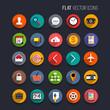 Zdjęcia na płótnie, fototapety, obrazy : Flat Vector Icons