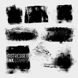 Distressed Ink Stamps poster