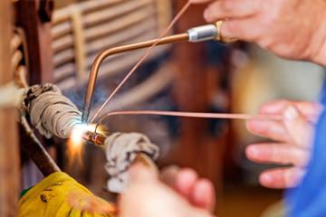 welding copper