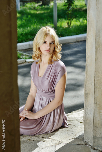 lady wearing dress