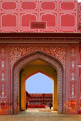 Entrance to City Palace, Jaipur, India