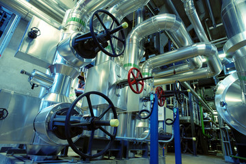 Industrial Steel  pipelines and valves