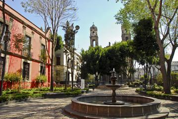 Santa Veracruz church,Mexico city